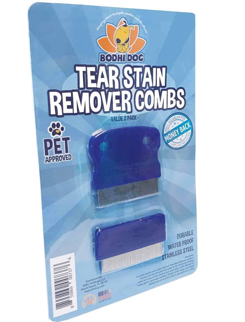 Tear Eye Stain Remover Combs